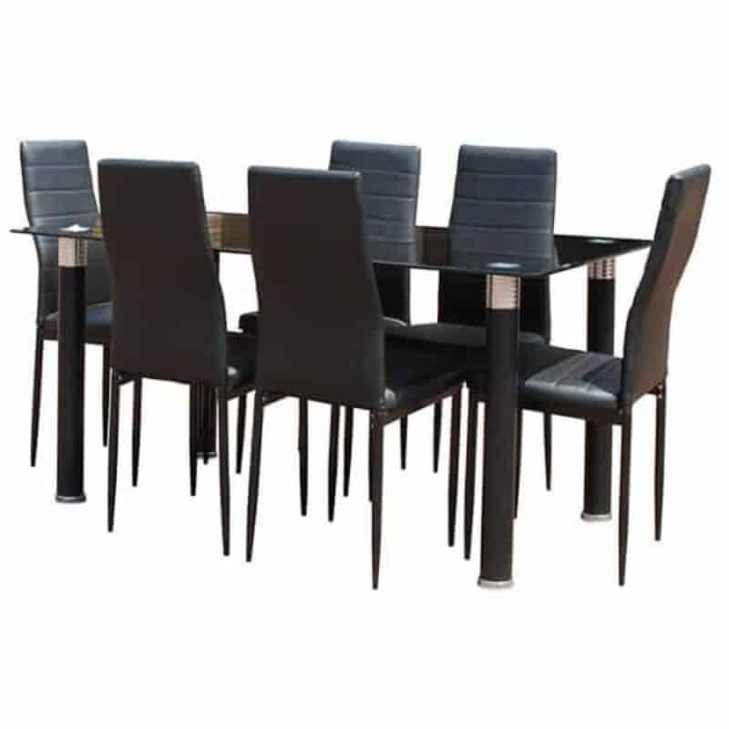 online-furniture-store-Black-glass-dining-set-min