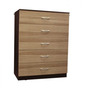 Chest - 5 drawers: L range (Brown)