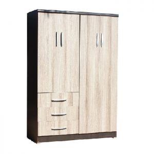 4 Door wardrobe - Rio