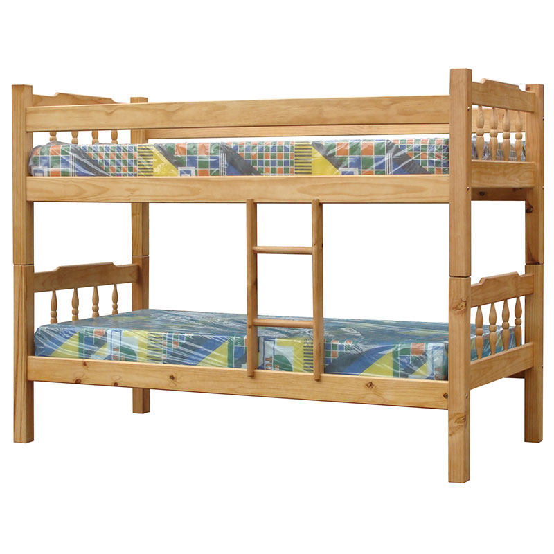 Wooden Bunk Bed Oak Stained Buy Furniture Online Furniture Specials Online Furniture Store 5 Star Furniture