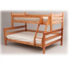 Wooden bunk bed - TRI bunk